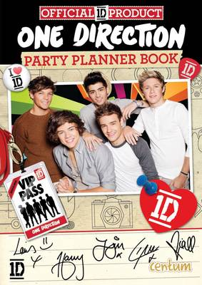 One Direction Party Planner Book (Paperback)