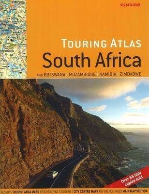 Touring Atlas of South Africa: And Botswana, Mozambique, Namibia, Zimbabwe (Paperback)