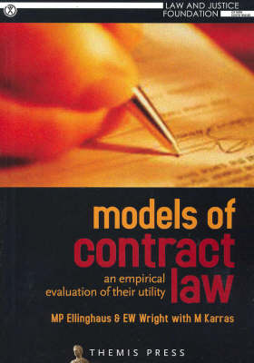 Models of Contract Law: An Empirical Evaluation of Their Utility (Paperback)