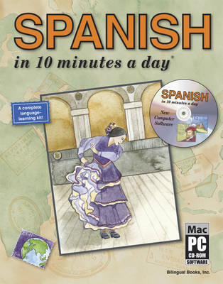 Spanish in 10 Minutes a Day (Mixed media product)