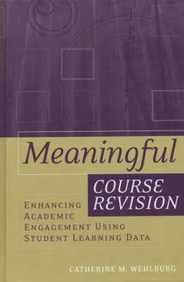 Meaningful Course Revision: Enhancing Academic Engagement Using Student Learning Data - JB-Anker (Hardback)