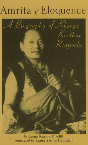 Amrita of Eloquence: A Biography of Khenpo Karthar Rinpoche (Novelty book)