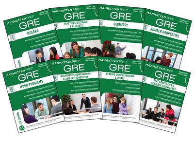 Manhattan Prep GRE Set of 8 Strategy Guides, 4th Edition (Paperback)