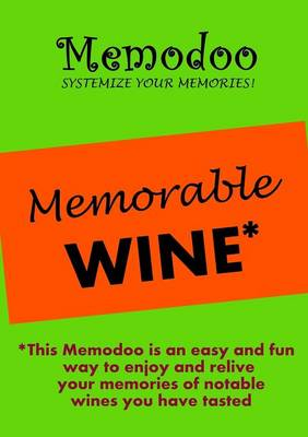 Memodoo Memorable Wine (Paperback)