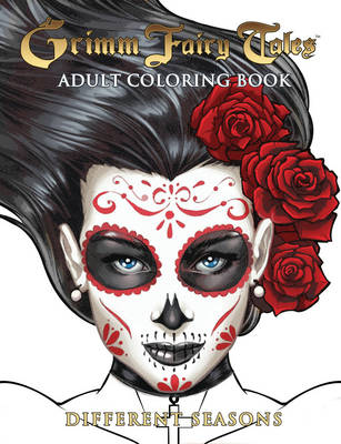 Grimm Fairy Tales Adult Coloring Book Different Seasons: Adult Coloring Book Halloween Edition