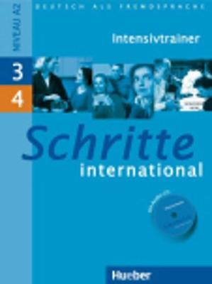 Schritte International: Intensivtrainer MIT Audio-CD 3 & 4 (Mixed media product)
