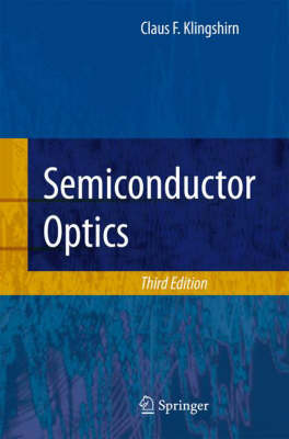 Semiconductor Optics (Hardback)