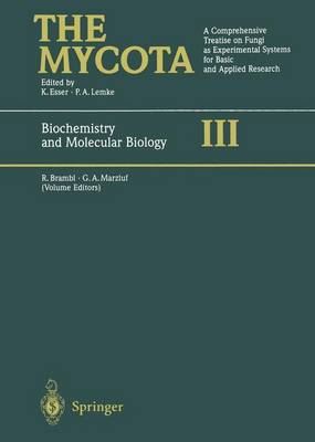 The Mycota: a Comprehensive Treatise on Fungi as Experimental Systems for Basic and Applied Research: Biochemistry and Molecular Biology Vol 3 - Mycota: a Comprehensive Treatise on Fungi as Experimental Systems for Basic and Applied Research Vol 3 (Hardback)