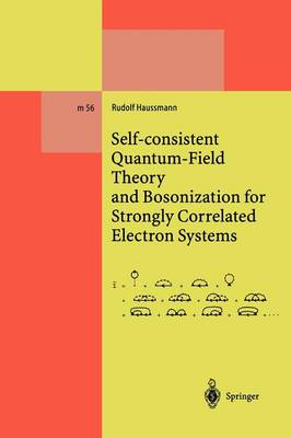Self-Consistent Quantum-Field Theory and Bosonization for Strongly Correlated Electron Systems - Lecture Notes in Physics Monographs (Closed) 56 (Paperback)