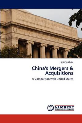 China's Mergers & Acquisitions (Paperback)