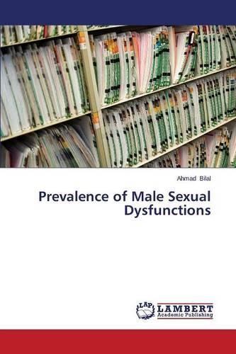 Prevalence of Male Sexual Dysfunctions (Paperback)