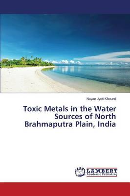 Toxic Metals in the Water Sources of North Brahmaputra Plain, India (Paperback)