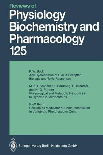 Reviews of Physiology, Biochemistry and Pharmacology - Reviews of Physiology, Biochemistry and Pharmacology 125 (Paperback)