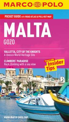 Malta & Gozo Marco Polo Guide - Marco Polo Travel Guides (Paperback)