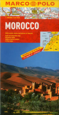 Morocco Marco Polo Map (Sheet map, folded)