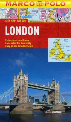 London Marco Polo City Map - Marco Polo City Maps (Sheet map, folded)