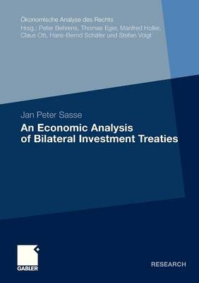 An Economic Analysis of Bilateral Investment Treaties - Okonomische Analyse Des Rechts (Paperback)