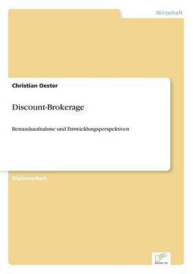 Discount-Brokerage (Paperback)