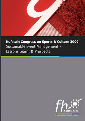 Kufstein Congress on Sports and Culture 2009 (Paperback)