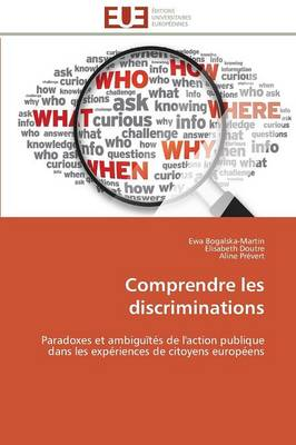 Comprendre Les Discriminations (Paperback)
