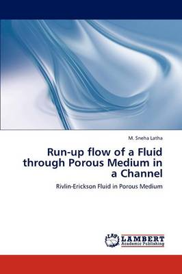 Run-Up Flow of a Fluid Through Porous Medium in a Channel (Paperback)