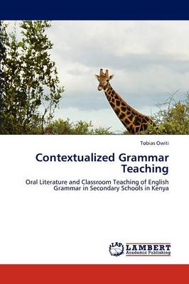 Contextualized Grammar Teaching (Paperback)