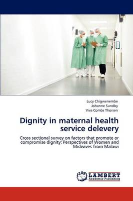 Dignity in Maternal Health Service Delevery (Paperback)