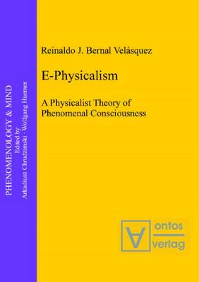 E-Physicalism: A Physicalist Theory of Phenomenal Consciousness (Hardback)