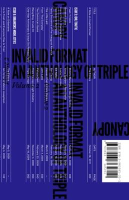 Invalid Format - an Anthology of Triple Canopy, Vol. 2 (Paperback)