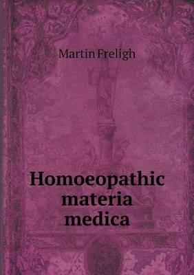 Homoeopathic Materia Medica (Paperback)