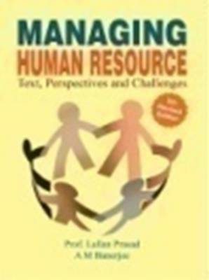 Managing Human Resourse: Text, Perspectives & Challenges (Paperback)