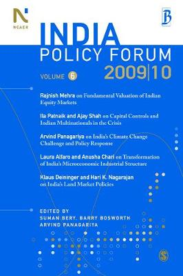 India Policy Forum 2009-10 - India Policy Forum 6 (Paperback)