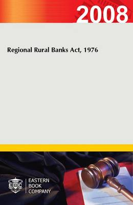 Regional Rural Banks Act, 1976 (Paperback)