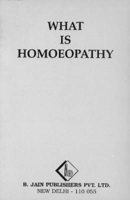 What is Homoeopathy (Paperback)