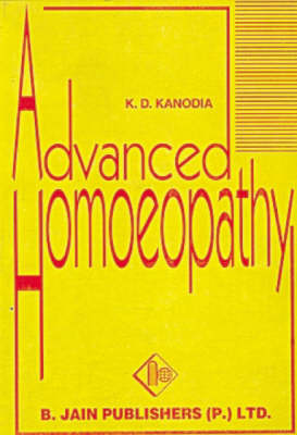 Advanced Homoeopathy (Paperback)