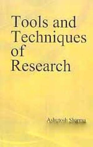 Tools and techniques of research (Hardback)