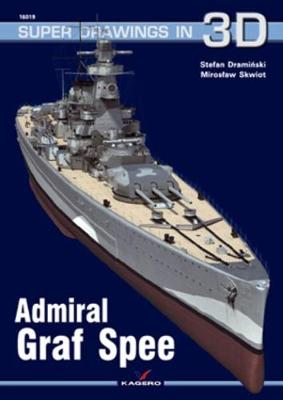 Admiral Graf Spee - Super Drawings in 3D (Pamphlet)