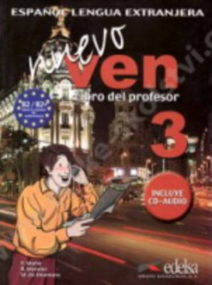 Nuevo Ven: Libro Del Profesor + CD 3 (Mixed media product)