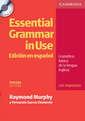 Essential Grammar in Use Spanish Edition with Answers and CD-ROM (Mixed media product)