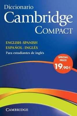 Diccionario Bilingue Cambridge Spanish-English Paperback with CD-ROM Compact Edition (Mixed media product)