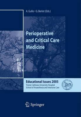 Perioperative and Critical Care Medicine 2005: Educational Issues (Paperback)