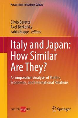 Italy and Japan - How Similar are They? - Perspectives in Business Culture 4 (Hardback)
