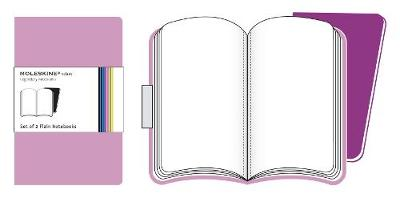 Moleskine Volant Extra Large Plain Pink Magenta & Magenta (Multiple copy pack)