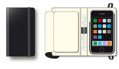 Moleskine Folio iPhone Cover (Mixed media product)