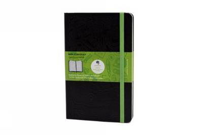 Large Squared Black Hard Evernote Notebook - Moleskine Evernote (Notebook / blank book)