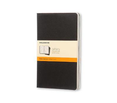 Moleskine Ruled Cahier L: Large - Moleskine Cahier (Multiple copy pack)