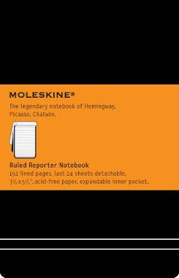 Pocket Reporter Ruled Notebook - Moleskine Classic (Notebook / blank book)