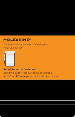 Large Reporter Ruled Notebook - Moleskine Classic (Notebook / blank book)