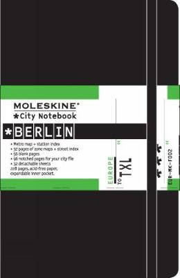 City Notebook Berlin - Moleskine City Notebooks (Notebook / blank book)