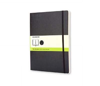 Moleskine Soft Xlarge Plain Notebook - Moleskine Classic (Notebook / blank book)